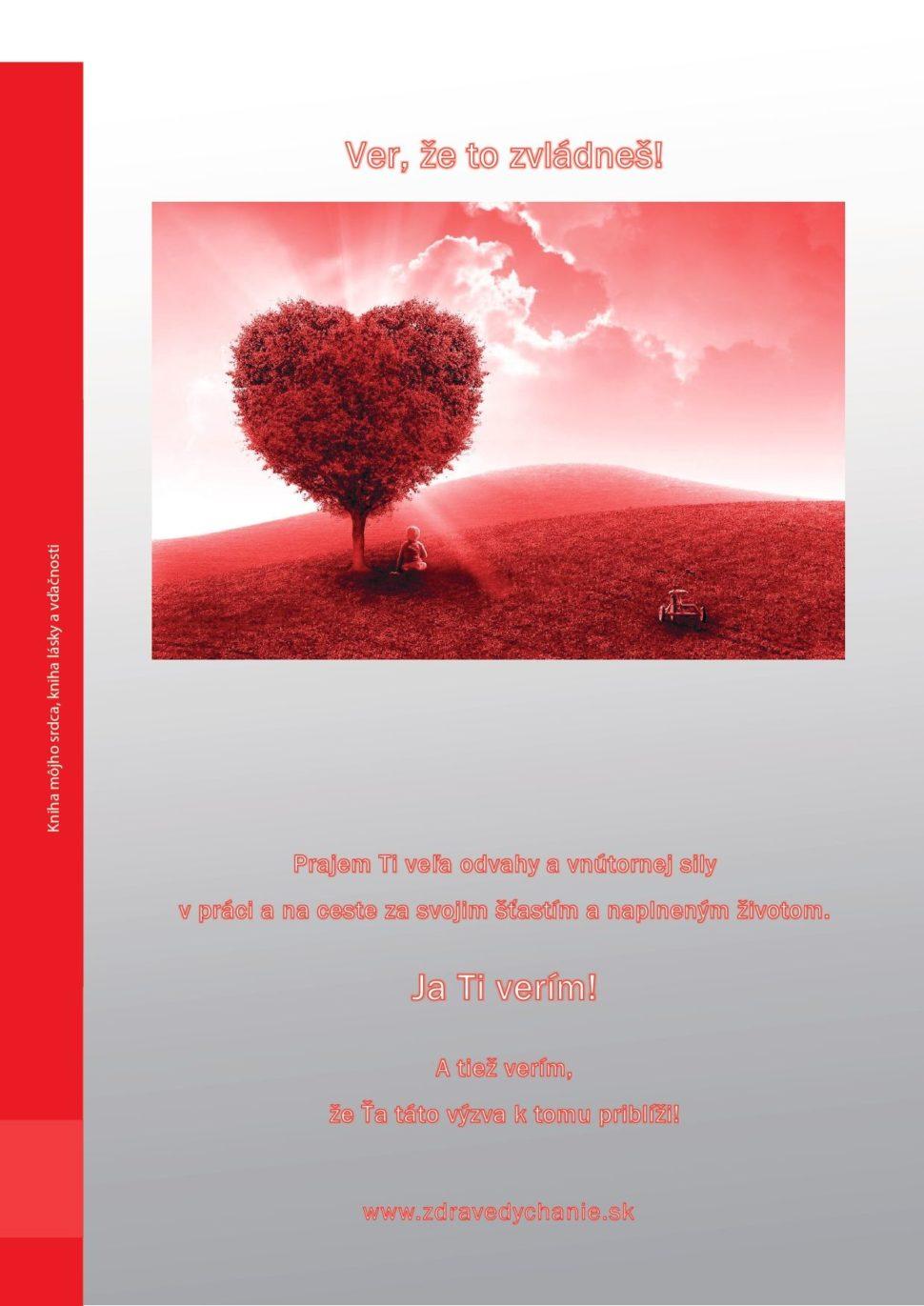 Kniha lásky avďačnosti-privítanie